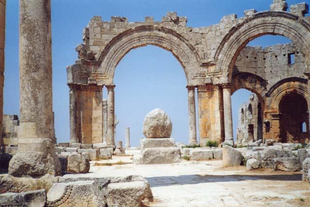 Zdjęcia: Bazylika św. Szymona Słupnika, SYRIA