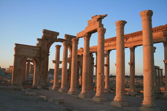 Zdjęcia: Palmyra, Palmyra o poranku, SYRIA