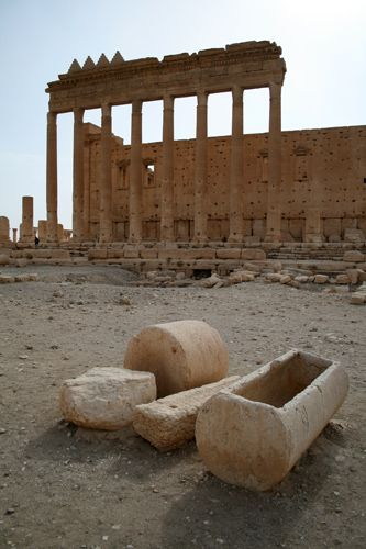 Zdjęcia: Palmyra, Palmyra - Temple of Bel, SYRIA