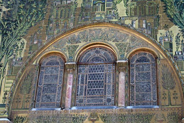 Zdjęcia: Damaszek, Wielki Meczet Umajjadów, SYRIA