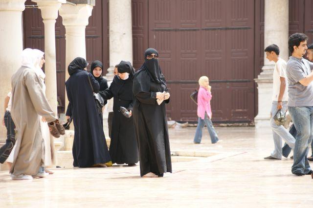 Zdjęcia: Damaszek, pielgrzymi 2, SYRIA