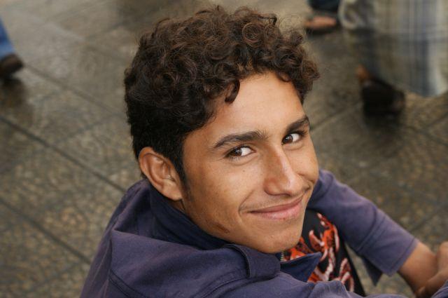 Zdjęcia: Damaszek, chłopiec, SYRIA