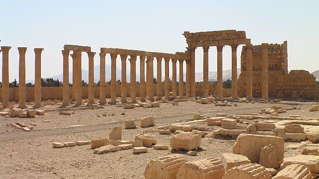 Zdjęcia: Palmyra, Palmyra, Niezwykłe miasto, SYRIA