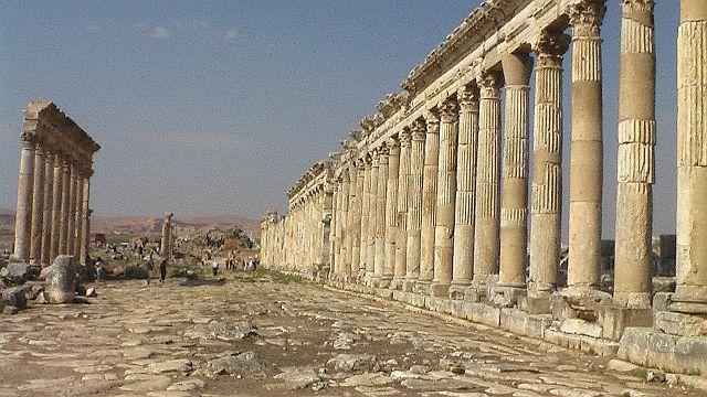 Zdjęcia: Apamea, Apamea, Hellada w Oriencie, SYRIA