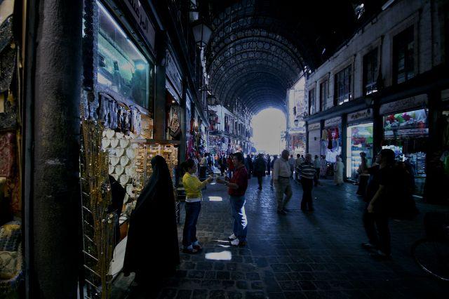 Zdjęcia: damaszek, damaszek, souq czyli targ, SYRIA