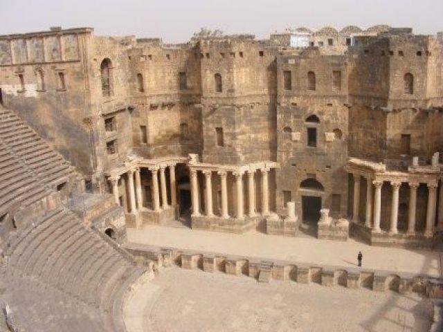 Zdjęcia: Bosra, Amfiteatr, SYRIA