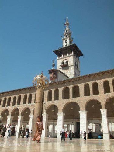 Zdjęcia: Damaszek, Meczet Ummajjadów, SYRIA