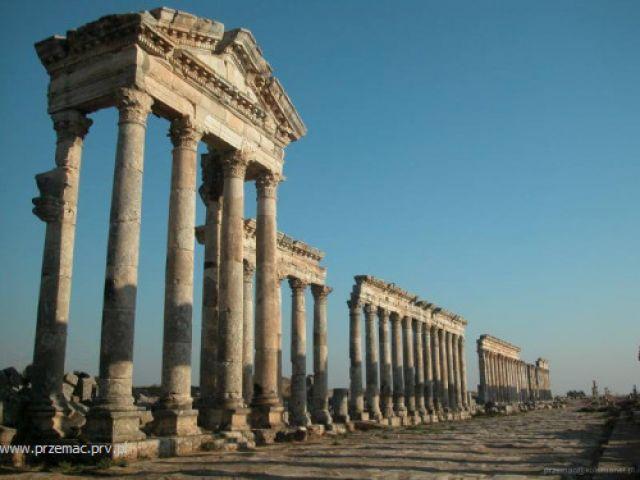 Zdjęcia: Apamea, Ruiny rzymskie, SYRIA