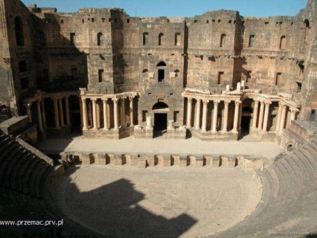 Zdjęcia: Basra, Rzymski amfiteatr, SYRIA
