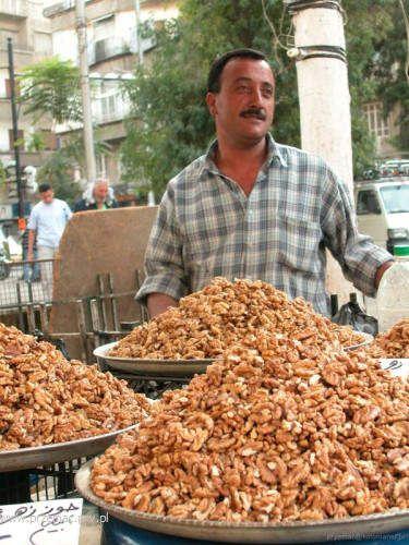 Zdjęcia: Damaszek, Sprzedawca orzechów, SYRIA