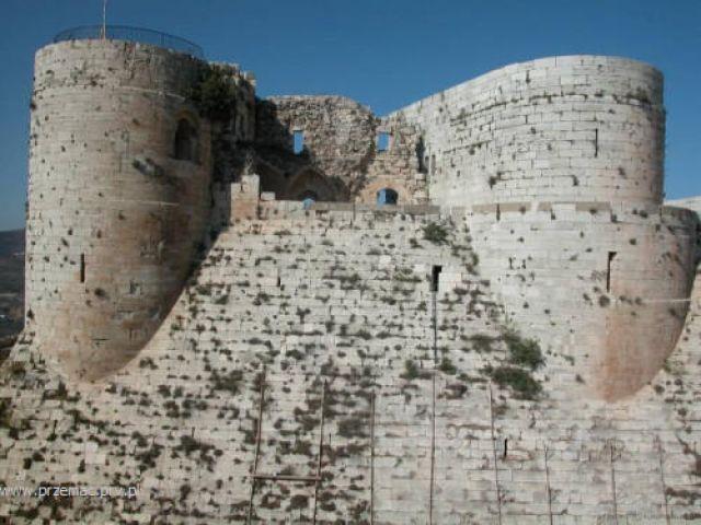 Zdj�cia: Krak des Chevaliers, Zamek krzy�owc�w, SYRIA