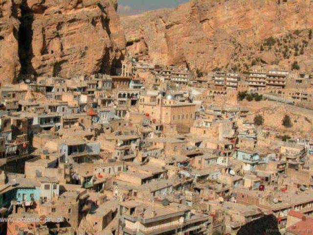 Zdjęcia: Maalula, Osiedla (głównie) chrześcijańskie, SYRIA