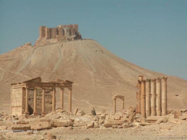 Zdjęcia: Palmira, Ruiny starożytnego miasta, SYRIA