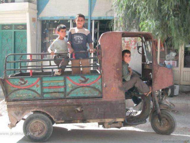 Zdjęcia: Palmira, Popularny środek transportu, SYRIA