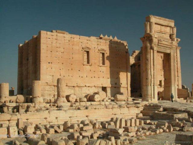 Zdj�cia: Palmira, Ruiny z czas�w rzymskich, SYRIA