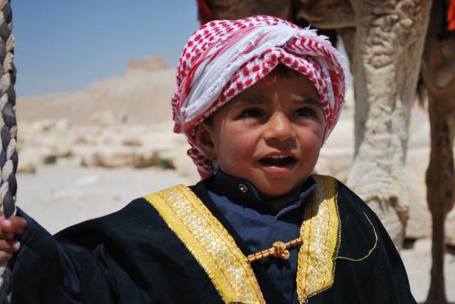 Zdjęcia: Palmyra, Syria, Dzieciak z Syrii, SYRIA