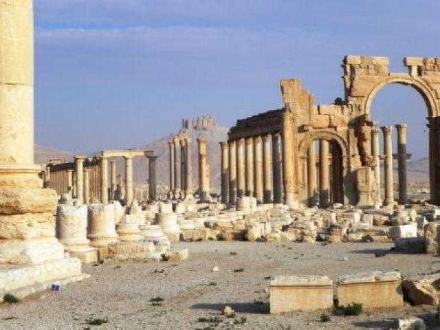 Zdjęcia: Pustynia, Palmira, Palmira, SYRIA