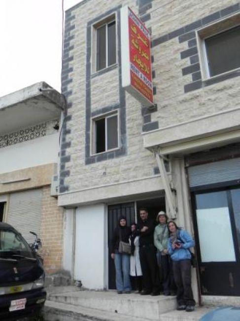 Zdjęcia: Crack de Chevaliers, Homs, Hotel Jana Pawła II, SYRIA