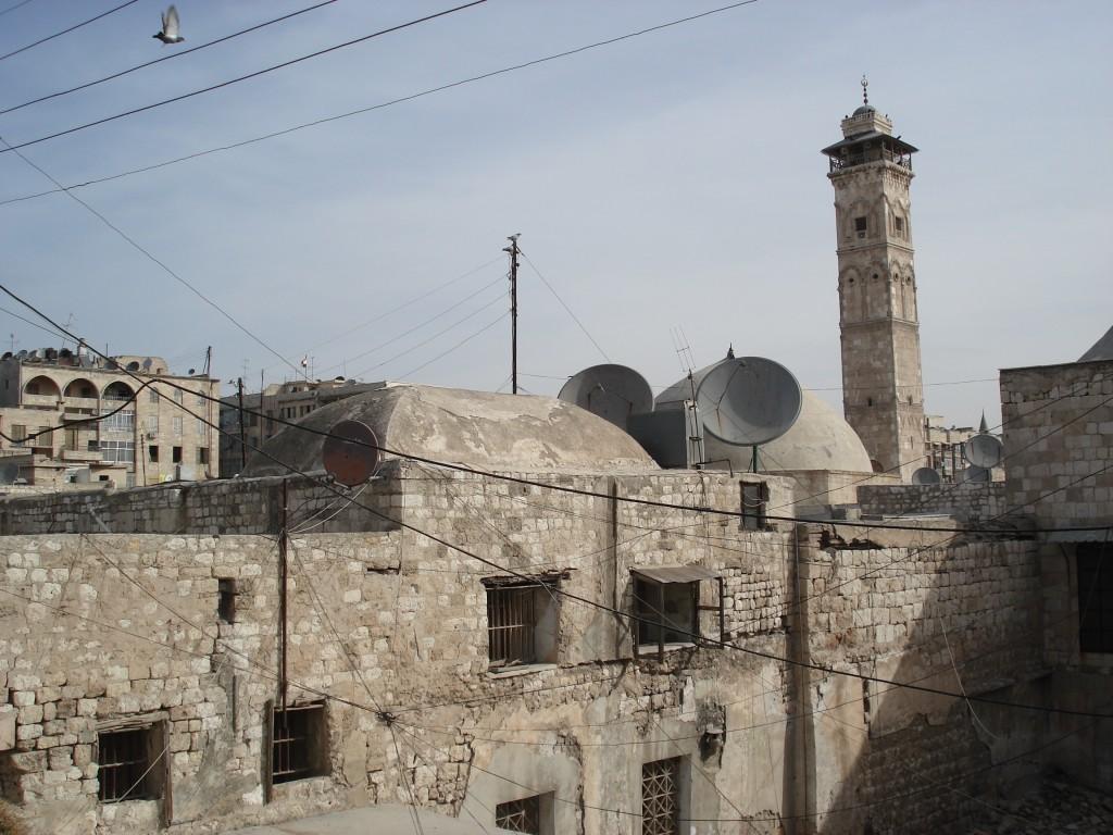 Zdjęcia: Aleppo/Halab, Stare Miasto, Aleppo, Minaret meczetu Umajjadów (1), SYRIA