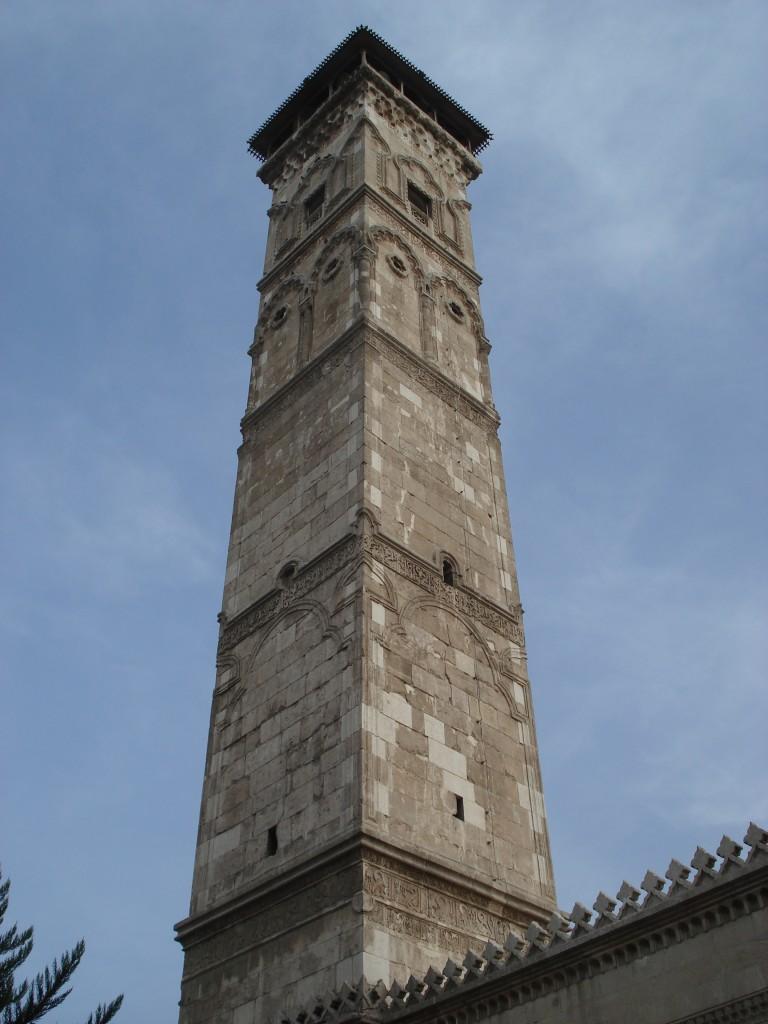 Zdjęcia: Aleppo/Halab, Stare Miasto, Aleppo, Minaret meczetu Umajjadów (3), SYRIA