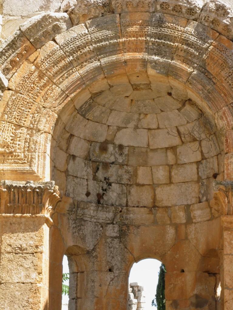 Zdjęcia: Kalat Seman, Ruiny kościoła Szymona Słupnika, V w. 1, SYRIA