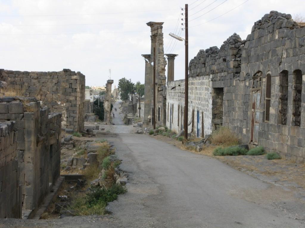 Zdjęcia: Filiopolis, Ulica z rzymskich czasów, SYRIA