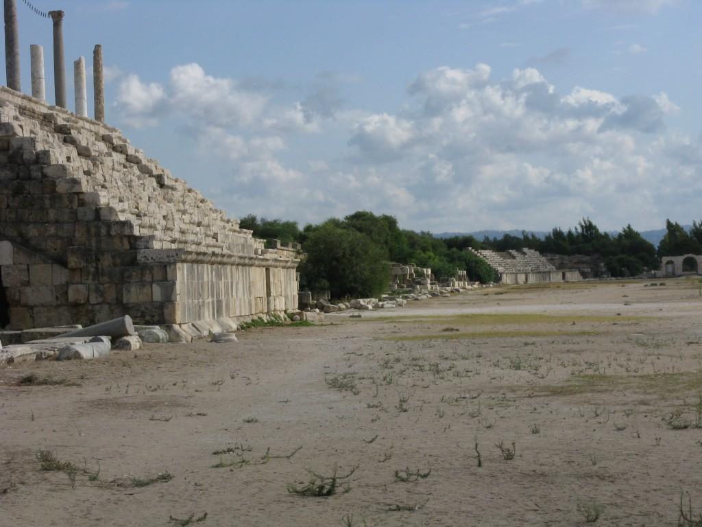 Zdjęcia: region Byblos, Ruiny rzymskiego stadionu, LIBAN