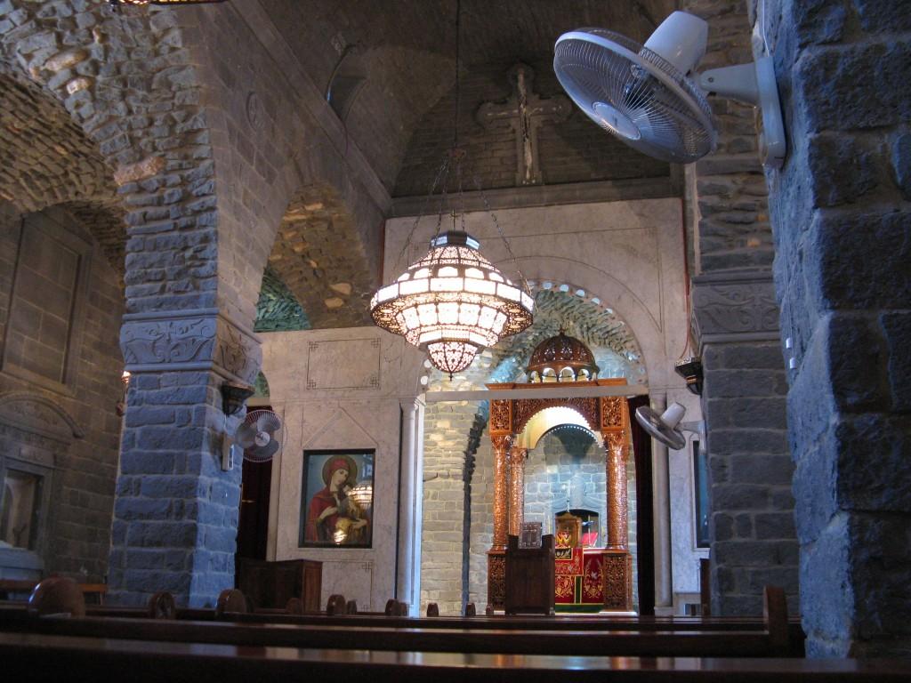 Zdjęcia: Homs, kościół w Homs - dziś oblężone, SYRIA