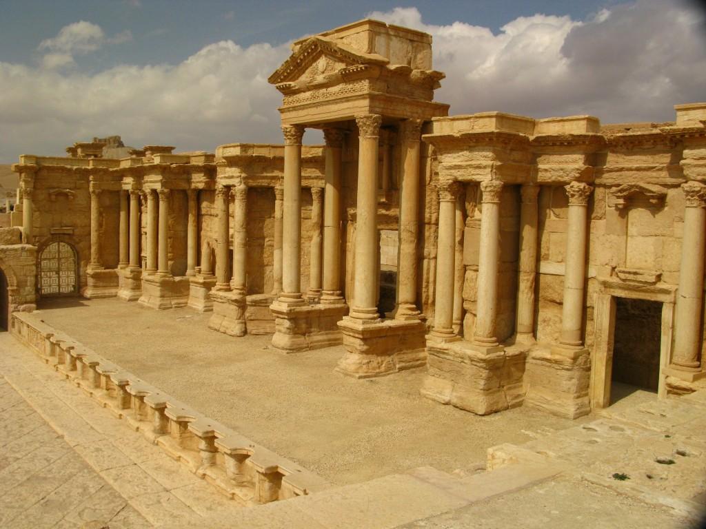 Zdjęcia: palmyra, syria, tydzień w syrii, SYRIA