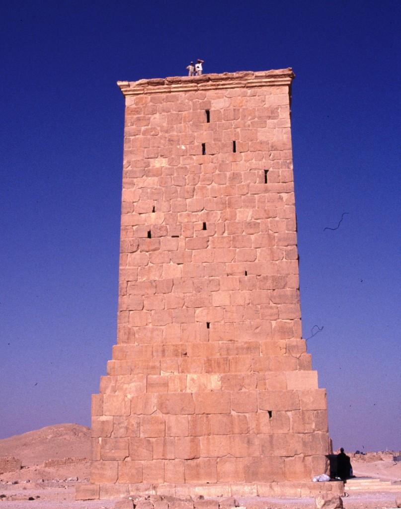 Zdjęcia: Palmyra, Środkowa Syria, Grobowiec wieżowy, SYRIA