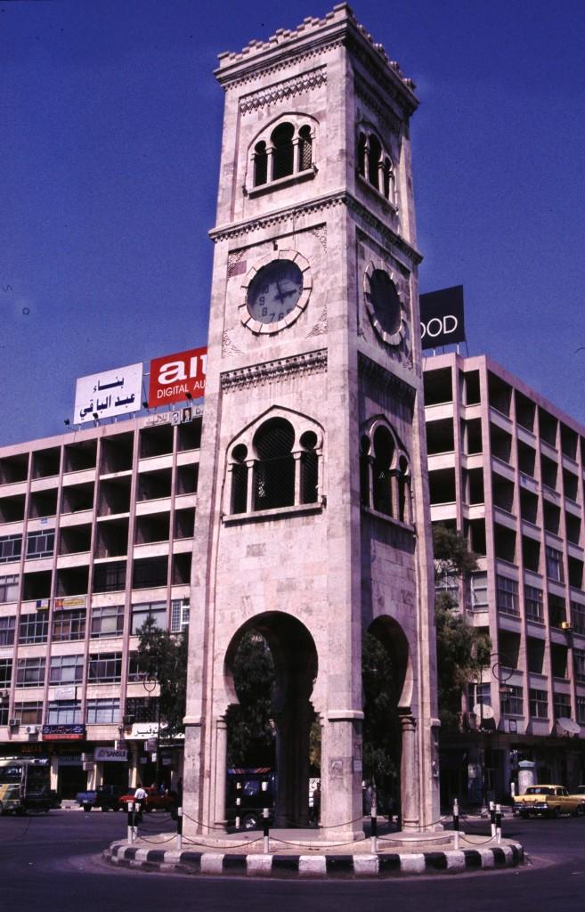 Zdjęcia: Hama, Zachodnia Syria, Wieża zegarowa, SYRIA