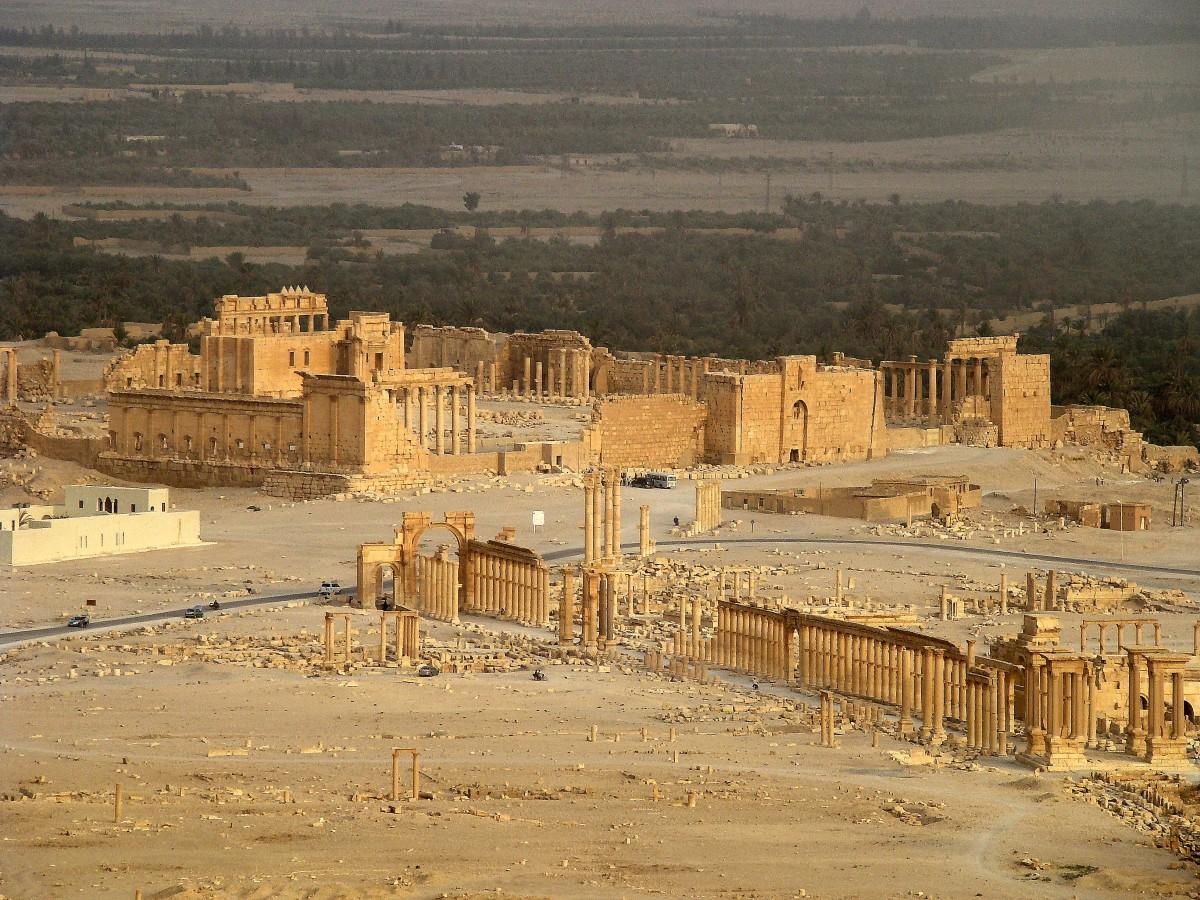 Zdjęcia: Palmyra, Pustynia Syryjska, Ruiny Palmyry, SYRIA