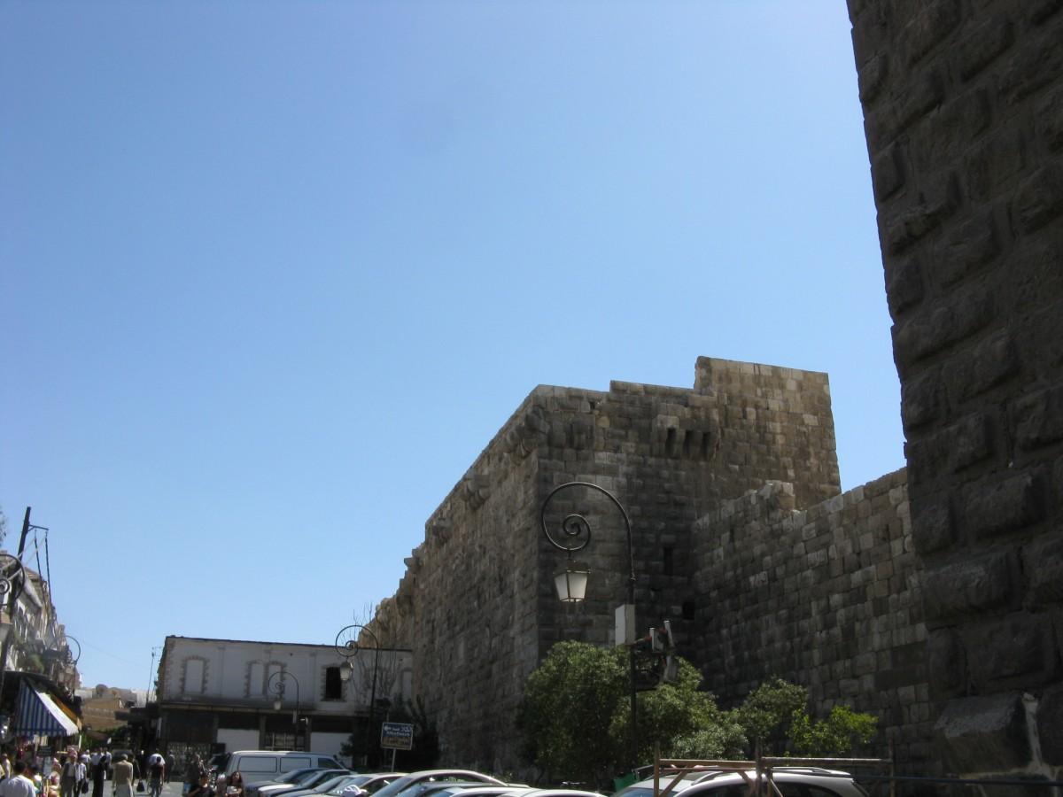Zdjęcia: Damaszek, Mury Damaszku, SYRIA