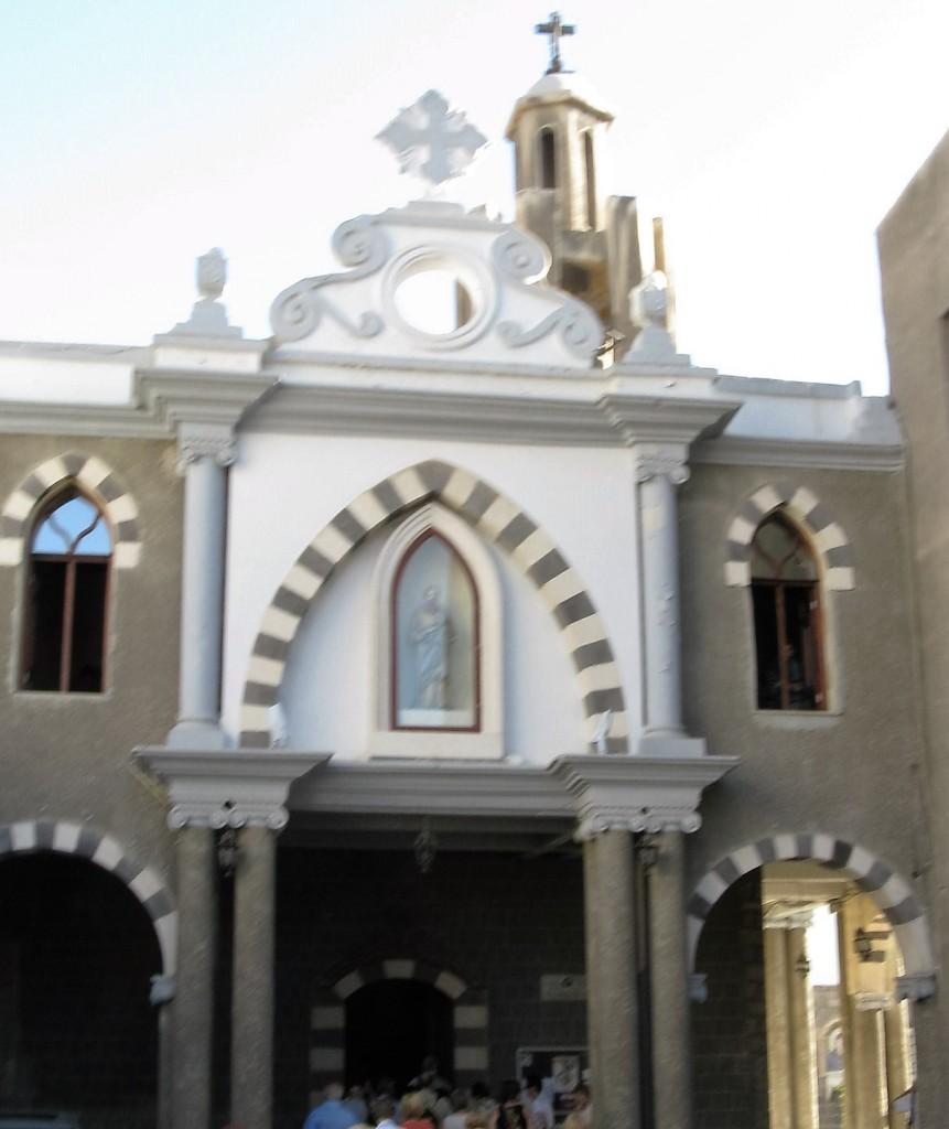 Zdjęcia: Damaszek, Dom Ananiasza - ul. Prosta (Dz. Apostolskie), SYRIA