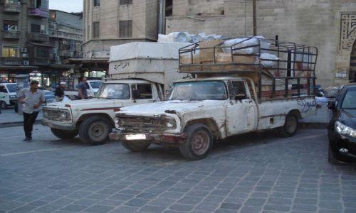 Zdjecie SYRIA / Aleppo / Aleppo - Stare Miasto / Krążownik szos