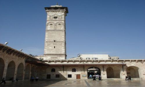 SYRIA / Aleppo / Aleppo/Halab, Stare Miasto / Minaret meczetu Umajjadów (2)