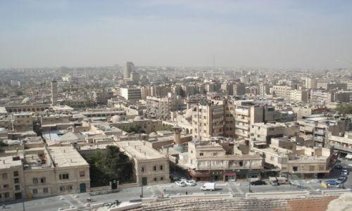 SYRIA / Aleppo / Aleppo/Halab, Stare Miasto / Panorama Aleppo