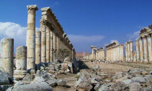 Zdjęcie SYRIA / Równina Al-Ghab / Apamea/Afamija / Apamea