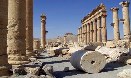 SYRIA / Pustynia Syryjska / Palmira / Dawno temu w Palmirze