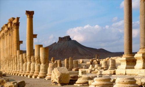 Zdjęcie SYRIA / PALMYRA / PALMYRA / SYRIA