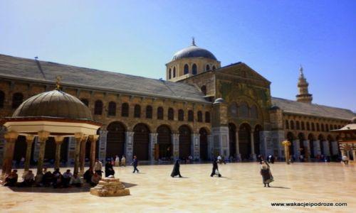 Zdjęcie SYRIA / - / Damaszek / Meczet Umajadów