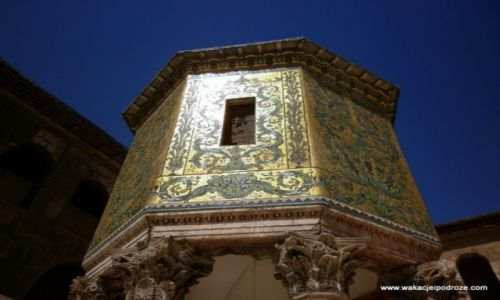 Zdjęcie SYRIA / - / Damaszek / Architektura Meczetu Umajadów