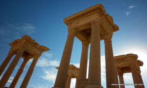 Zdjęcie SYRIA / - / Palmyra / Ruiny Palmyry