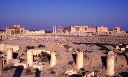 SYRIA / Środkowa Syria / Palmyra / Świątynia Baala