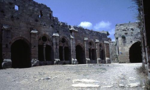 SYRIA / Środkowa Syria / okolice Homs / Krak des Chevaliers