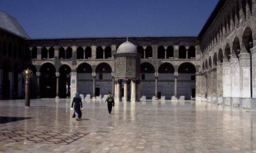SYRIA / Środkowa Syria / Damaszek / Meczet Umajjadów