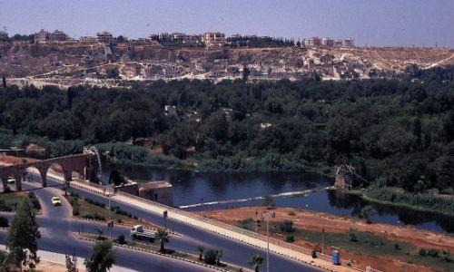 SYRIA / Zachodnia Syria / Hama / Panorama miasta
