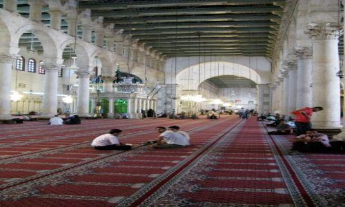 Zdjęcie SYRIA / - / Damaszek / meczet Omajadów - dawna bazylika św Jana