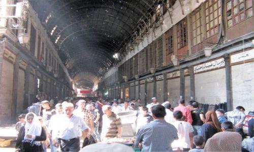 Zdjęcie SYRIA / - / Damaszek - suk / Co się dziś z nimi dzieje?