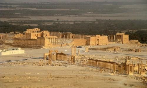 SYRIA / Pustynia Syryjska / Palmyra / Ruiny Palmyry